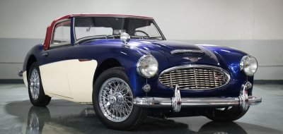 Austin-Healey 3000 MK II front/side view