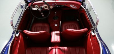 Austin-Healey 3000 MK II interior