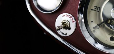 Austin-Healey 3000 MK II overdrive toggle