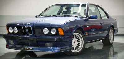 BMW M6 Alpina 1988 front left view