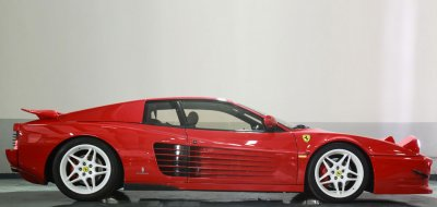 Ferrari F512TR Testarossa 1993 side view - passenger's side