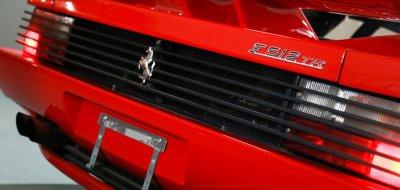 Ferrari F512TR Testarossa 1993 rear view