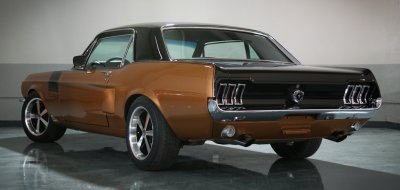 Ford Mustang 1967 rear left view