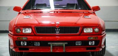 Maserati Shamal front view