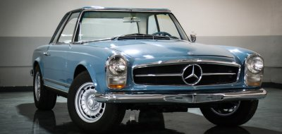 Mercedes Benz SL230 1965 front right view