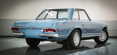 Mercedes Benz SL230 1965 rear right view