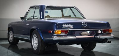 Mercedes Benz SL280 1969 rear left view