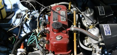 MG B 1963 engine