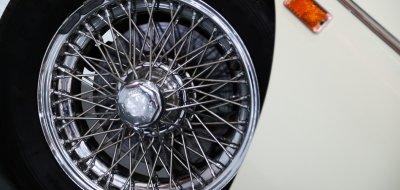 MG C 1969 wheel