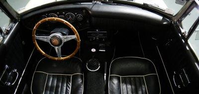 MG C 1969 interior