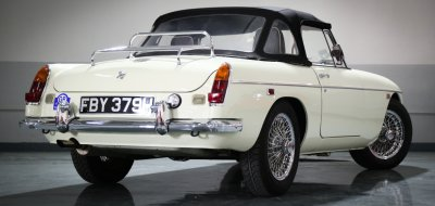 MG C 1969 rear right view