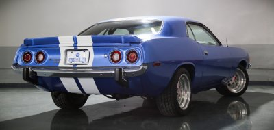 Plymouth Barracuda 1973 rear right view