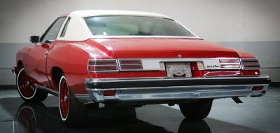 Pontiac Grand Le Mans 1976 rear left view