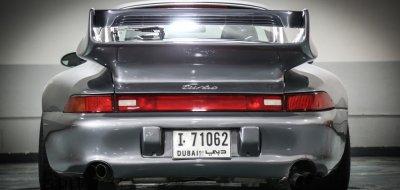 Porsche 993 1998 rear view