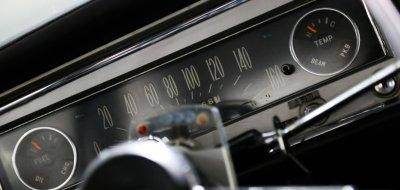 Toyota Corona gauges