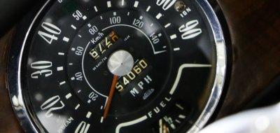 Triumph Herald 1965 speedometer