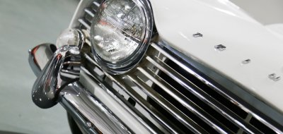 Triumph TR4 right headlight