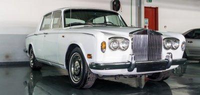 Restoration Project - Rolls Royce Silver Shadow 1976 - before