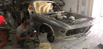 BMW 2800 CS 1970 - Restoration Project