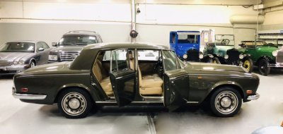 Restoration Project - Rolls Royce Silver Shadow 1976 - after