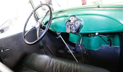 Ford Model A 1929 interior