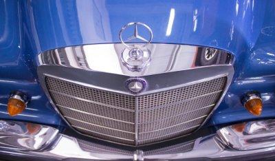 Mercedes Benz SEL300 1967 hood emblem