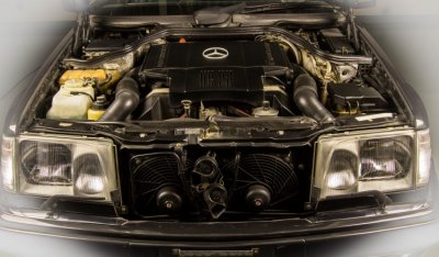 Mercedes Benz E500 1994 engine