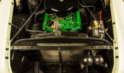 Oldsmobile 88 1956 engine - under the hood!