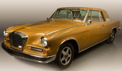 Studebaker Gran Turismo Hawk 1963 front right view