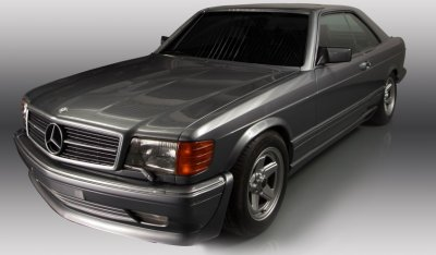 Mercedes Benz SEC560 AMG 1993 front right view