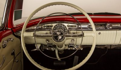 Oldsmobile 88 1956 steering wheel