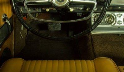Studebaker Gran Turismo Hawk 1963 cockpit view