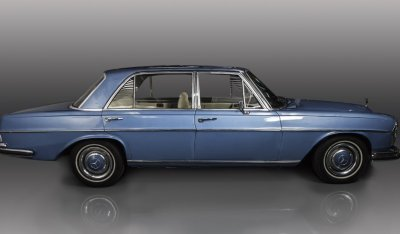 Mercedes Benz SEL300 1967 side view (passenger)