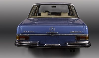 Mercedes Benz SEL300 1967 rear view