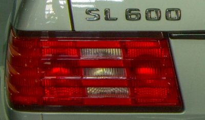Mercedes Benz SL600 1998 tail light
