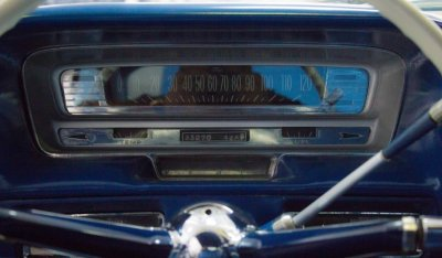 Cadillac De Ville 1959 speedometer