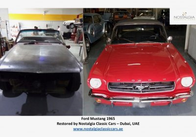 Ford Mustang 1965 - Before & After Restoration