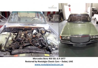 Mercedes Benz 450 SEL 6.9 1977 - Restoration Project