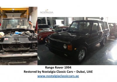 Range Rover 1994 - Restoration Project