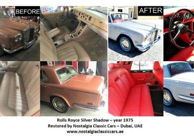 Rolls Royce Silver Shadow 1975 Restoration Project