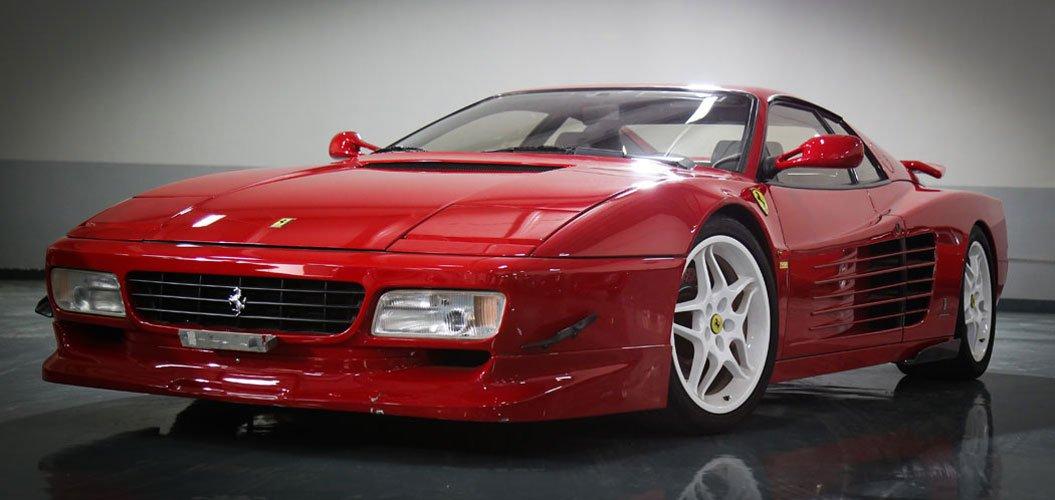Classic Cars Showroom Ferrari