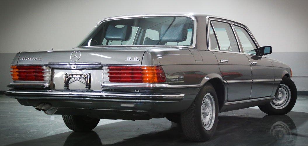 Mercedes Benz 450 Sel 6 9 1976 Classic Cars In Dubai Uae