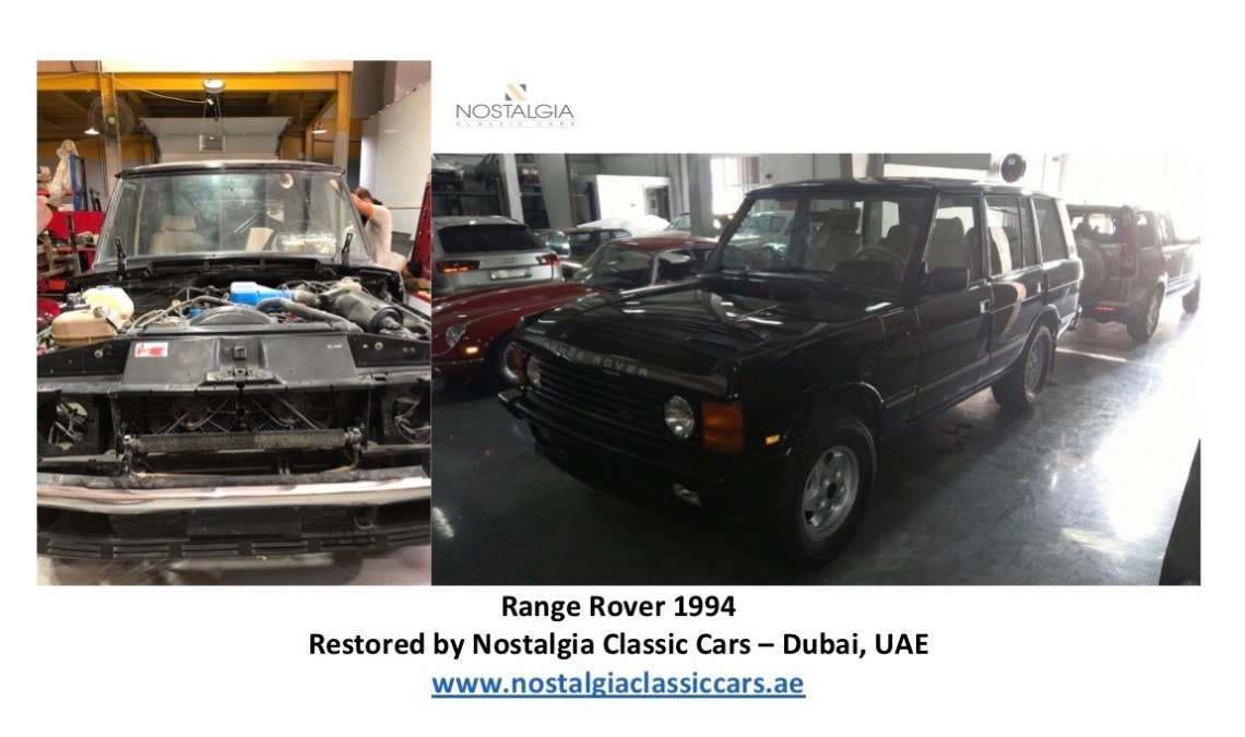 Range Rover 1994 - Restoration Project