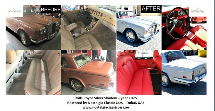 Rolls Royce Silver Shadow 1975 Restoration Project